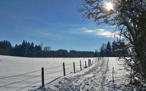 Winter in Böbing