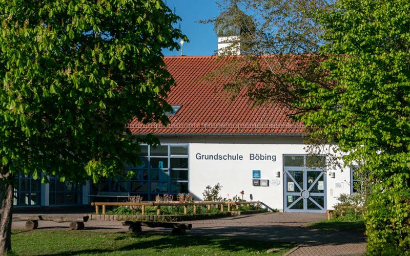 Grundschule Böbing - Eingangsbereich